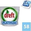 Dreft Platinum Blue - 58 Pieces - Tablettes pour lave-vaisselle