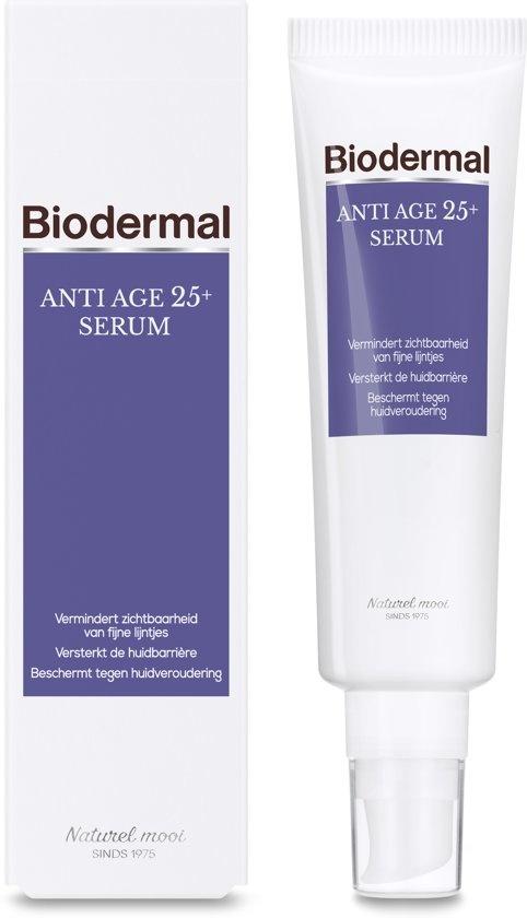 Biodermal Anti Age 25+ - Serum mit Hyaluronsäure gegen Hautalterung - Anti-Falten - 30ml