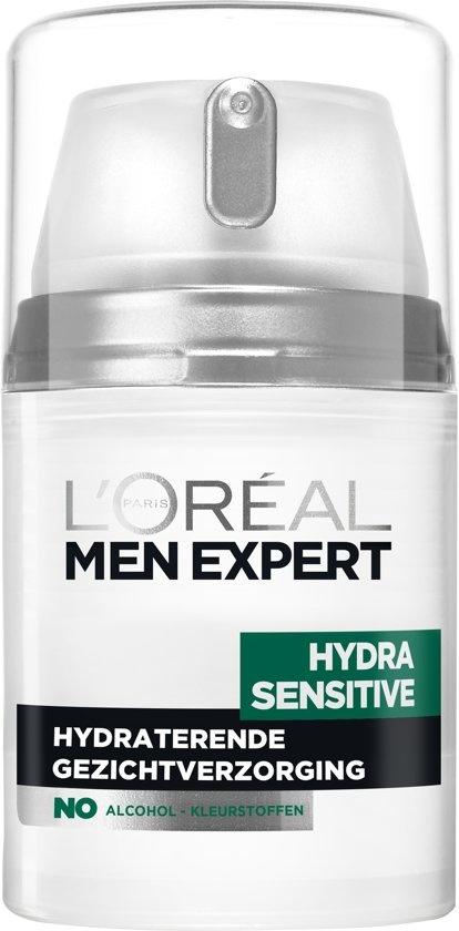 L'Oréal Men Expert Hydra Sensitive Face Cream - 50 ml - Sensitive Skin