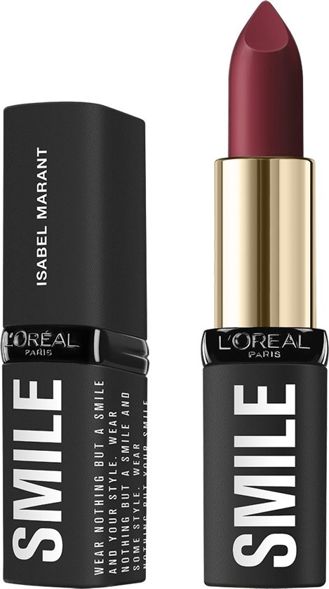 X Isabel Marant Lipstick - Limited Edition - 01 Belleville Rodeo - Dark Red