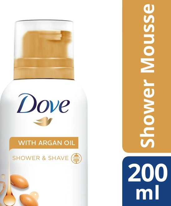 Argan Oil - 200 ml - Shower Mousse