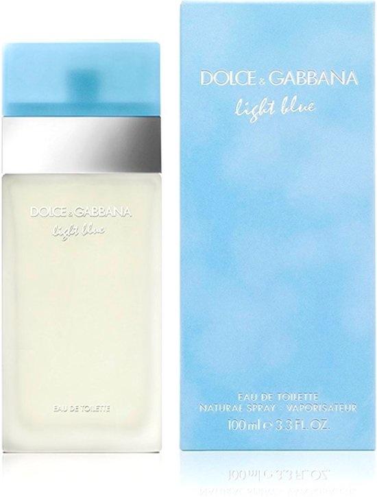 Dolce & Gabbana Bleu Clair 75 ml - Eau de Toilette - Parfum Femme