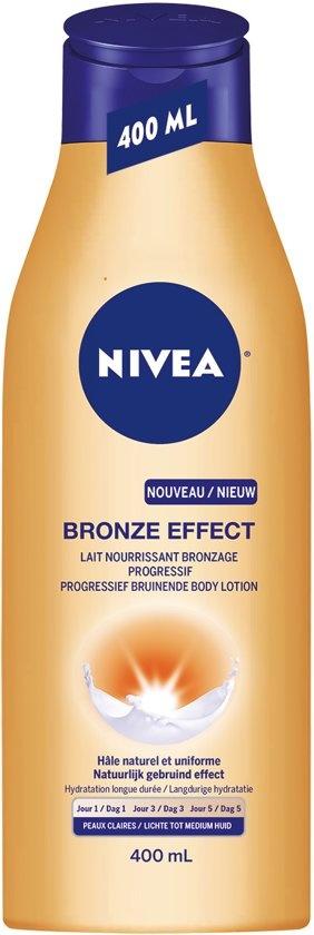Effet bronze peaux claires à moyennes - 400 ml - Lotion pour le corps