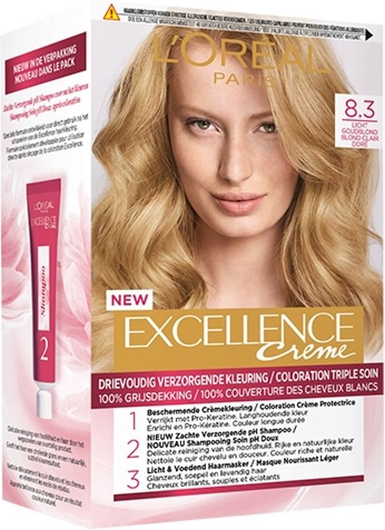 Excellence Cream 8.3 Hellgoldene Blondine - Haarfärbemittel