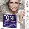 Tone Supreme S1 Light Silbergrau 60 ml Haarfärbemittel