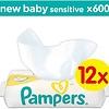 New Baby Sensitive - 600 Stück (12x50) - Babytücher