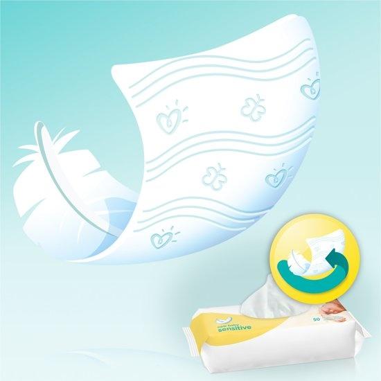 New Baby Sensitive - 600 Pieces (12x50) - Lingettes pour bébé