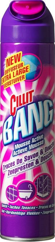Mousse nettoyante pour salle de bain - 600 ml