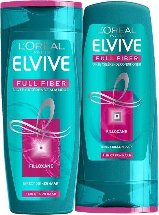 Shampooing créateur d'épaisseur de fibre complète Elvive - 250 ml