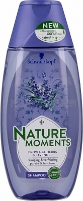 Shampoing Nature Moments Herbes et Lavande de Provence 250 ml