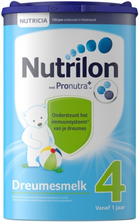 4 Toddlers Growth Milk - Formule pour bouteille - 800 grammes
