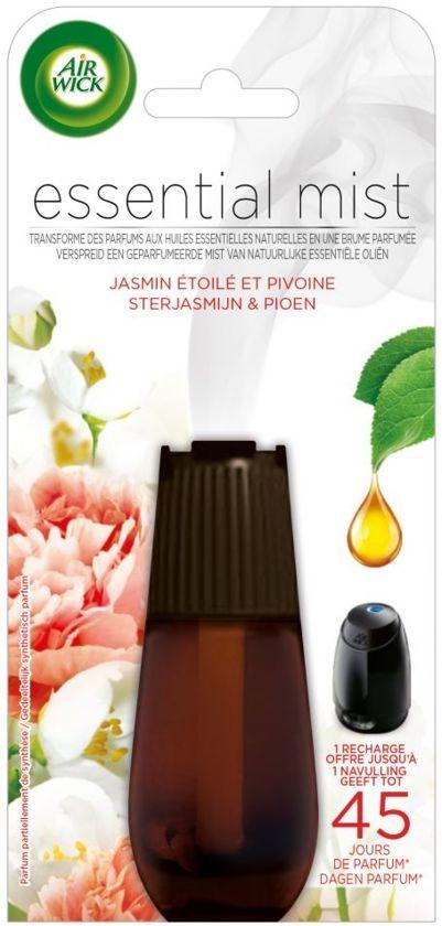 Essentieller Nebel Jasmin & Pfingstrose - Nachfüllung - 20 ml