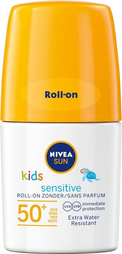 SUN Kids Sonnenschutz 50ml - Protect & Sensitive Roller SPF50 +