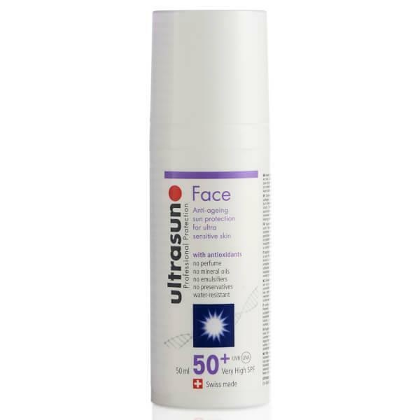 UltraSun Gesichtscreme SPF 50+ - Verpackung fehlt -