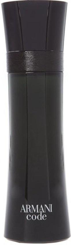 Armani Code 125 ml - Eau de Toilette - Herenparfum - Verpakking ontbreekt -