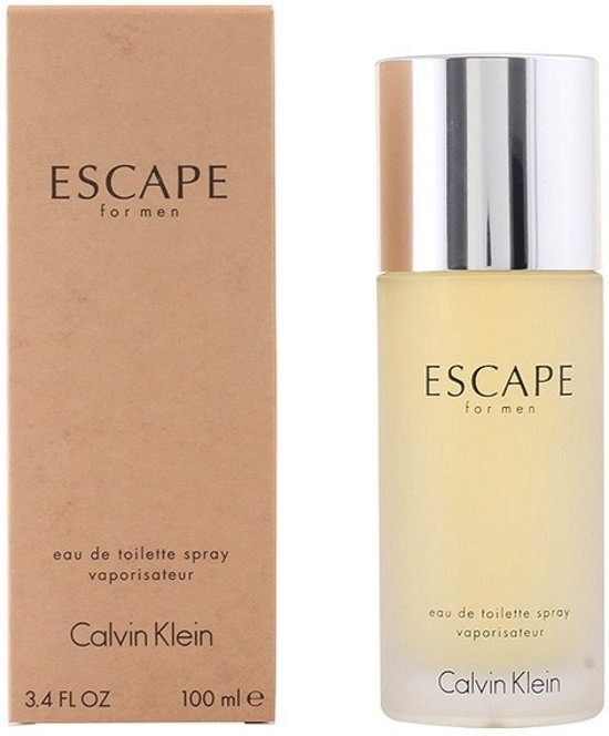 Escape 100 ml - Eau de Toilette - Herenparfum - Verpakking beschadigd -