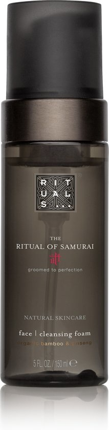 The Ritual of Samurai Gezichtsreinigingsschuim - 150 ml