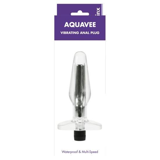 Plug Anal Vibrant Kinx Aquavee Transparent OS