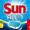 Tablettes lave-vaisselle soleil citron 26 pcs