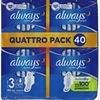 Serviette hygiénique Always Ultra Secure Night 40 pcs