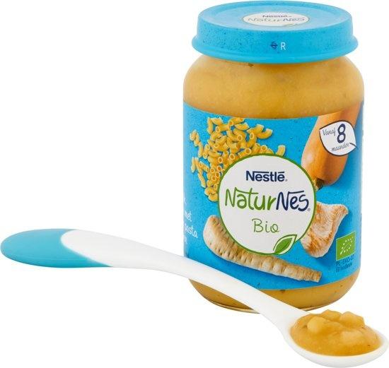 Bio Pastinaak, Pompoen, Volkoren Pasta, Kalkoen 8+ mnd - biologische babyvoeding
