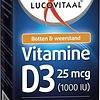 Vitamine D3 25 microgrammes de complément alimentaire - 120 capsules