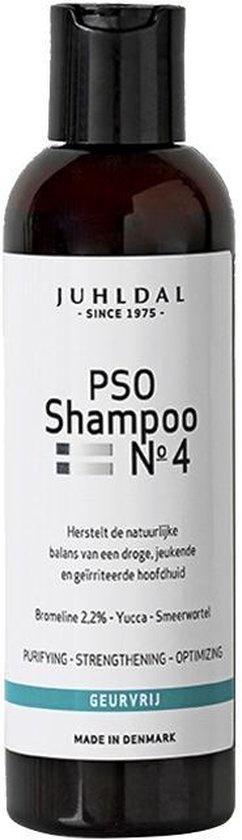 PSO Shampoo Nr. 4 für eine juckende, trockene und gereizte Kopfhaut