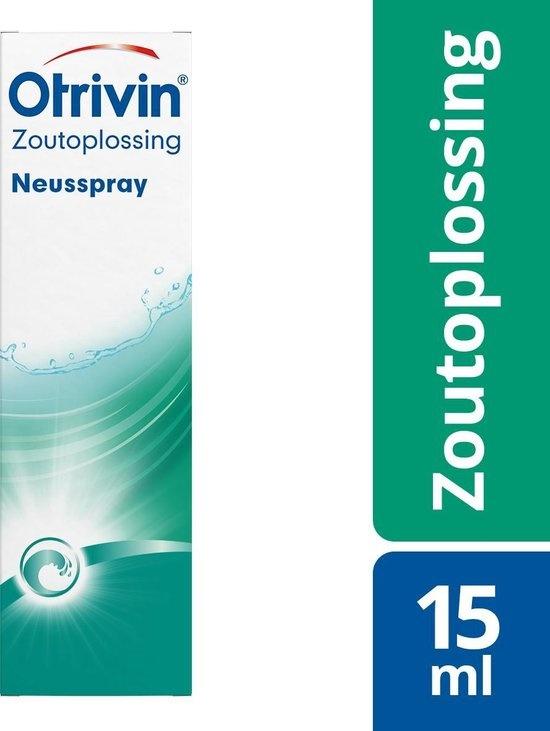Kochsalzlösung - 15 ml - Nasenspray
