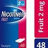 Nicotinell fruit 2 mg kauwgom - stoppen met roken - 48 stuks