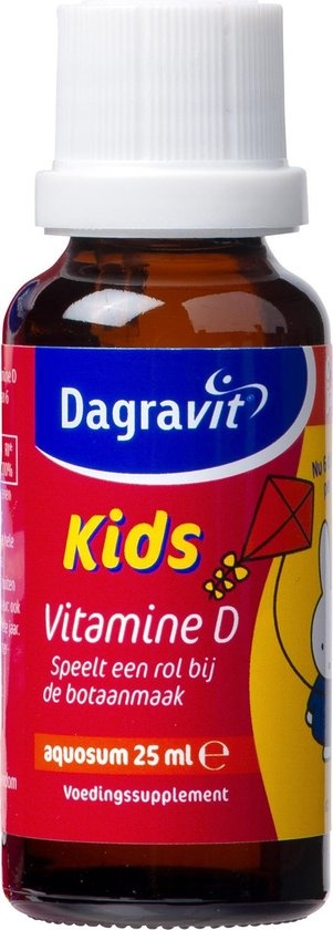 Dagravit Kids Vitamin D 0 bis 4 Jahre Nahrungsergänzungsmittel - 25 ml - Tropfen
