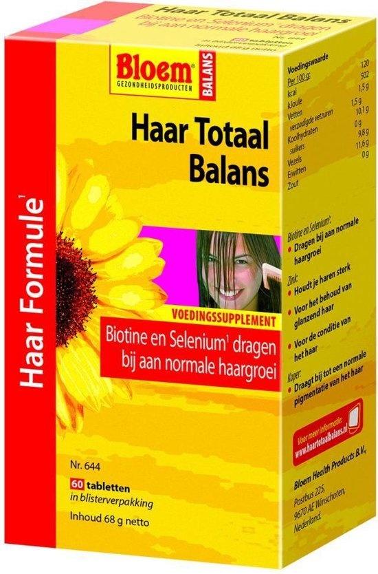 Flower Hair Total Balance 60 comprimés