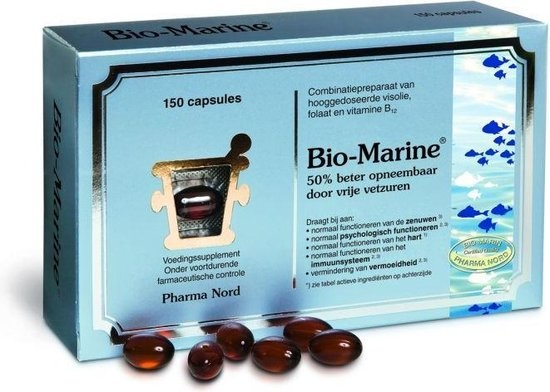 Complément alimentaire Pharma Nord Bio-Marine - 150 Capsules