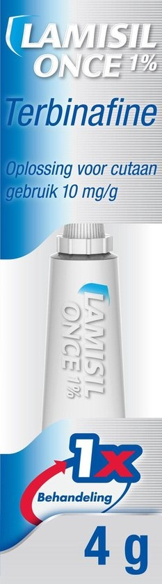 Lamisil Once Cream 1% - Athlete's foot treatment