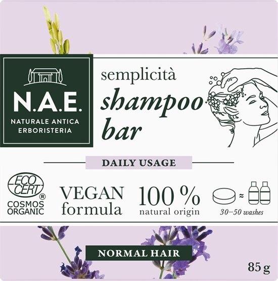 N.A.E.  Simplicity Shampoo Bar Dagelijks gebruik - Normaal haar
