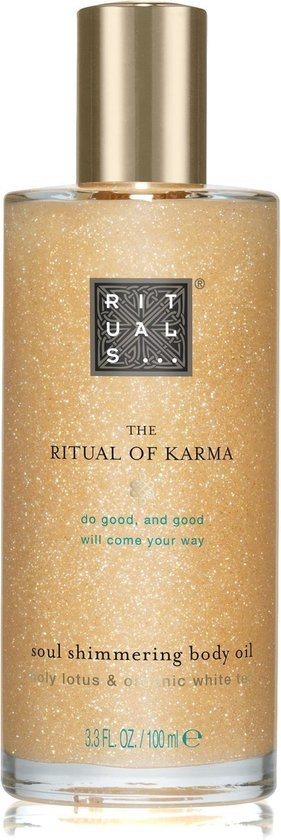 rituals body oil
