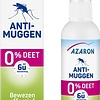 Azaron Anti-Mosquito 0% DEET Spray - mosquito protection - 75ml
