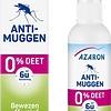 Azaron Anti-Muggen 0% DEET Spray - muggenbescherming - 75ml
