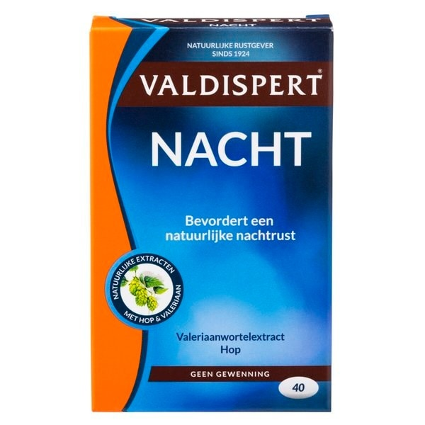 Valdispert Night Extra Strong - 40 comprimés
