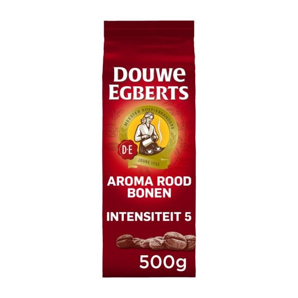 Douwe Egberts Aroma Red Coffee Beans 500g