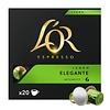 L'OR Lungo Elegante 20 capsules for Nespresso®
