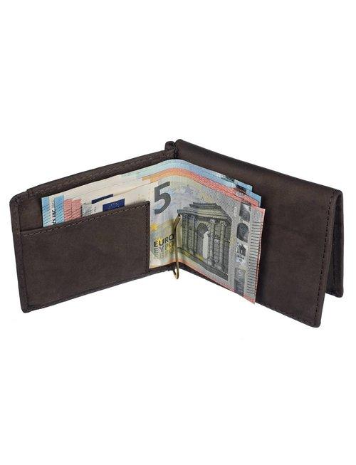 "Hodalump - Dollar-Clip-Börse ""FREDL""   Traditionelles Portemonnaie"