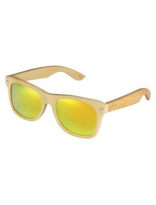 Hodalump Bambu Sonnenbrille Yellow Hodalump