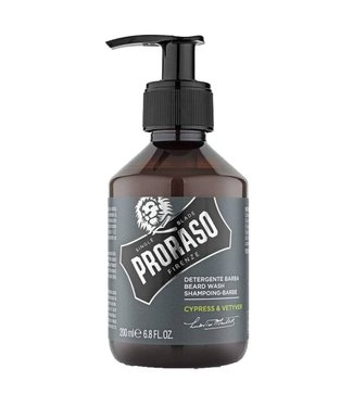 Proraso Beard shampoo Cypress & Vetyver