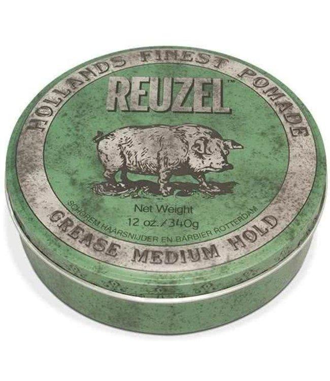 Reuzel Reuzel Grease Medium Hold 340gr (Green)