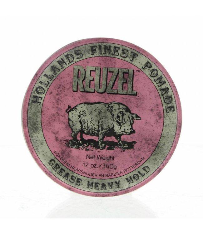 Reuzel Grease Heavy Hold 340gr (Pink)