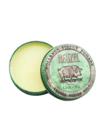 Reuzel Grease Medium Hold Pomade Travel Size (Green)