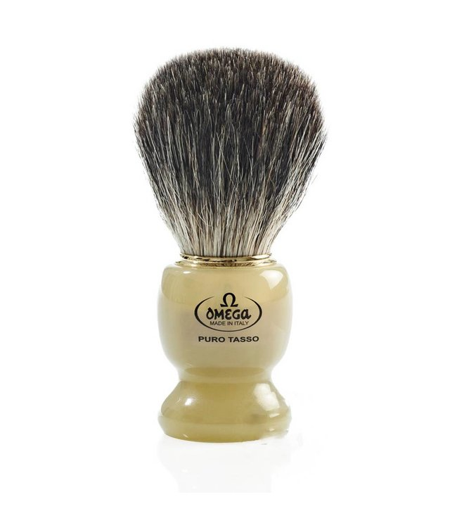 Omega Shaving brush Badger hair (badger)