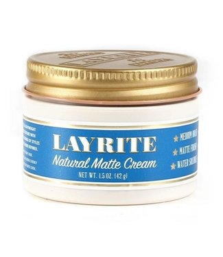 Layrite Natural Matte Cream Travel-Size