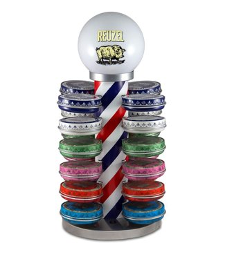Reuzel Barber Pole Display (incl 24 reuzel 113 gr.)