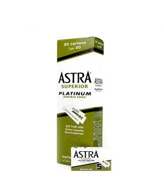 Astra Superior Platinum Double Edge Blades
